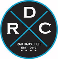 rad dad's club round logo