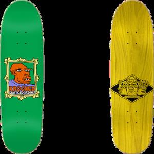 """Krooked Directional Frame Face 9.3"""" Skateboard Deck"""