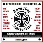 Independent X Thrasher Magazine Demo at Sydenham : 5.1.2019