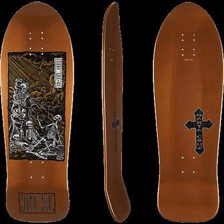 b9690d45663 Santa Cruz O Brien Purgatory 10″ Skateboard Deck