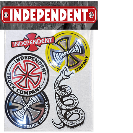 Pack of 10 Enjoi Skateboards Decals Sticker Pack Lot Authentic