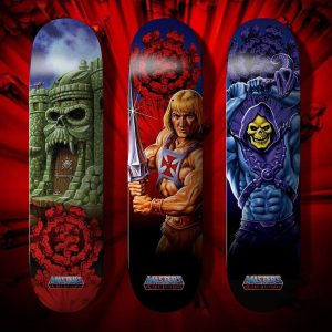 Element Masters Of The Universe Gray Skull skateboard Decks