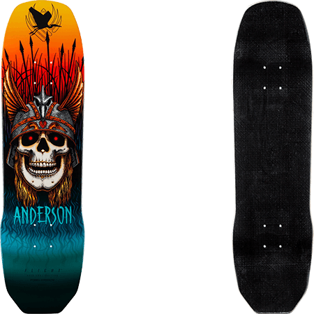 "Powell Peralta New Flight Pro Anderson Heron 8.45"" Skateboard Deck"