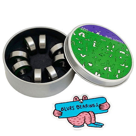 Blurs Bearings Skateboard Kugellager Titanium Colourful Bearings