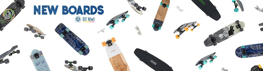 Landyachtz Summer Skateboard Range