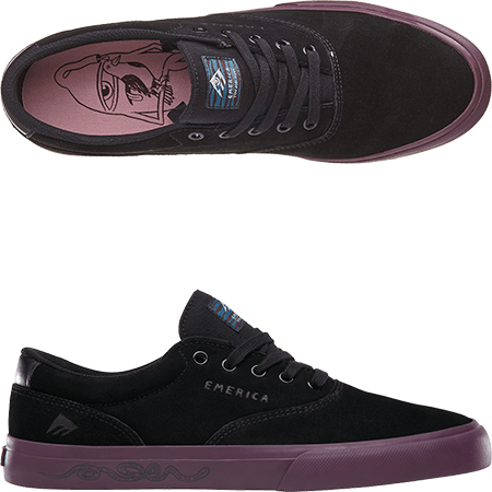 5195b1d38d Emerica Footwear and Toy Machine Skateboards present their team rider Colin  Provost s Pro Shoe Collaboration. Ed Templeton has giving his touch of ...