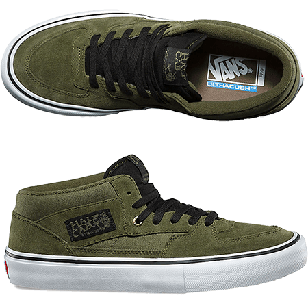 5d080bc01e The Pro skate shoe before they had Pro skate shoes. The Vans Half Cab skate  shoes or