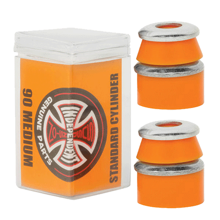 Independent Standard Cylinder 90a Medium Orange Bushings