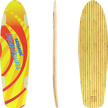 "Seismic Ground Swell 34"" Longboard Deck"