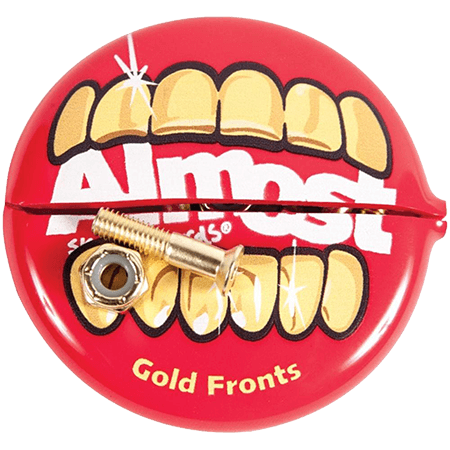 "Almost In Your Mouth Allen Head hardware 1"" Skateboard Bolts"