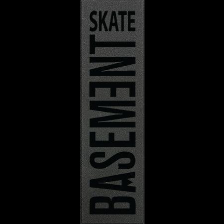 Basement Skate Script Black Griptape Sheet