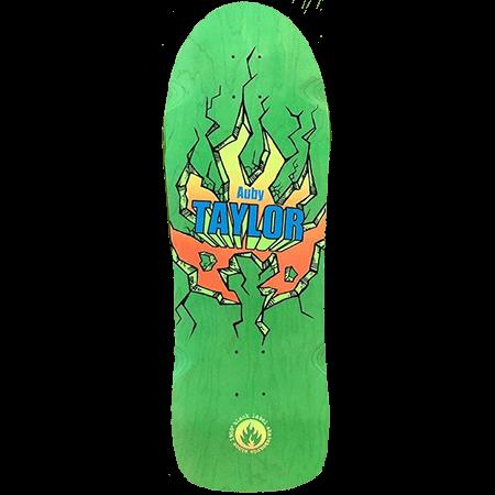 "Black Label Auby Taylor Green 10.25"" Skateboard Deck"