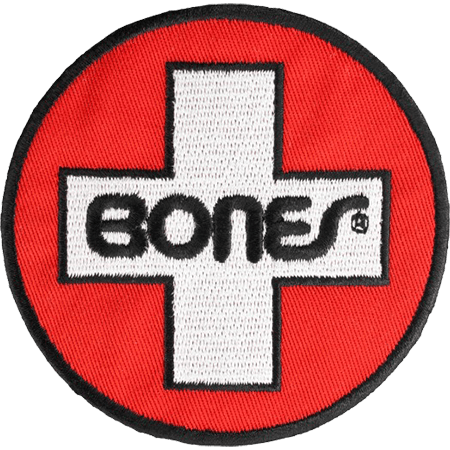 "Bones Swiss Circle 3"" Patch"