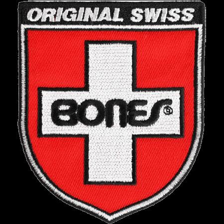"""Bones Swiss Shield 3"""" Patch"""
