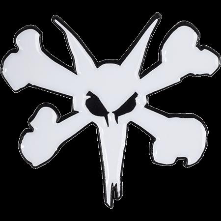 Bones Wheels Rat Bones Logo Lapel Pin