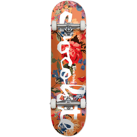 """Chocolate Tershy Floral Chunk 7.75"""" Complete Skateboard"""