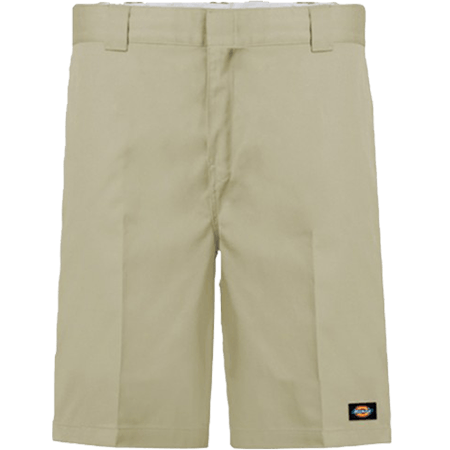 "Dickies 852 Flex 11"" Relaxed Fit Flex Fit Desert Sand Shorts"
