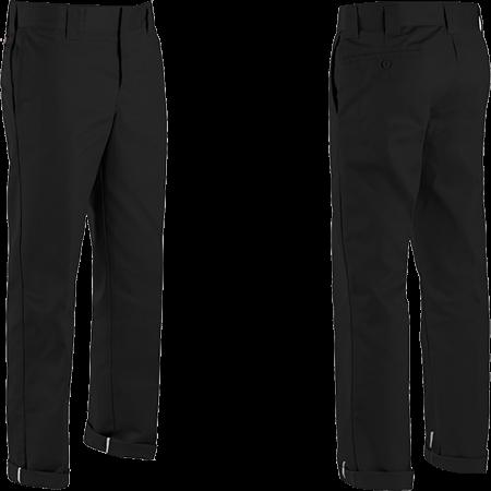 Dickies 873 Flex Slim Fit Black Pants