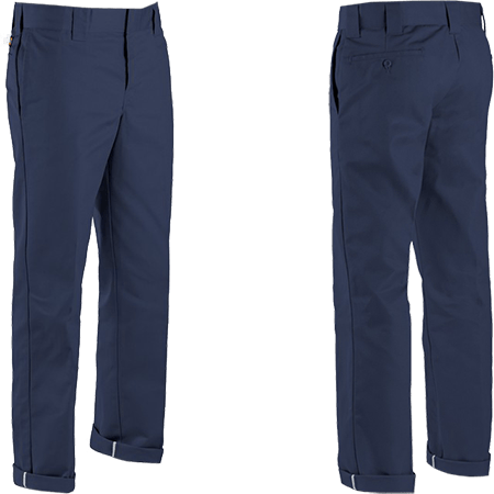 Dickies 873 Flex Slim Fit Dark Navy Pants