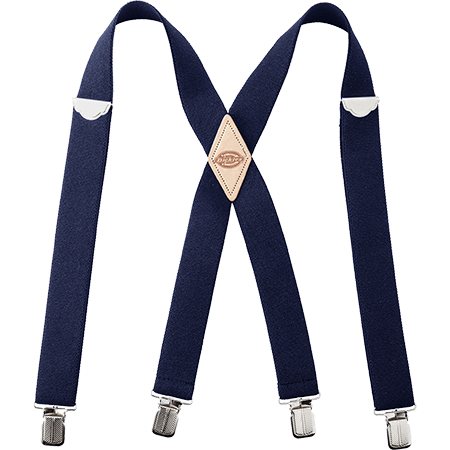 Dickies Navy 32mm Suspenders