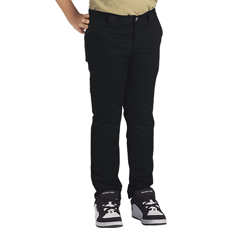 Dickies Youth 801 Flex Skinny Straight Black Pants