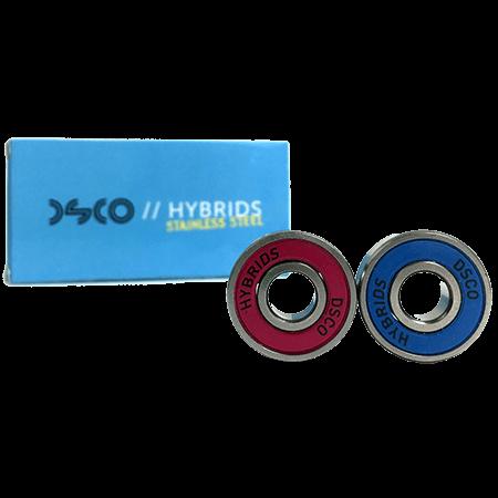 DSCO Stainless Steel Hybrids Skateboard Bearings