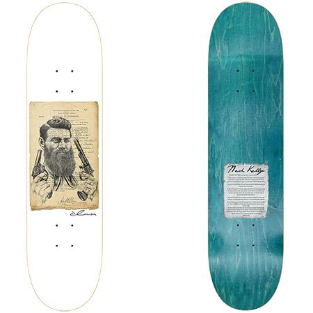 "élan Ned Kelly 8.25"" Redline Skateboard Deck"