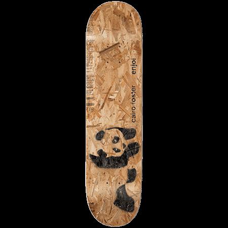 "Enjoi Foster Premium Panda Slick 8"" Skateboard Deck"