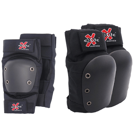 Exite Killers Adult Combo Pack Skate Knee Elbow Pads