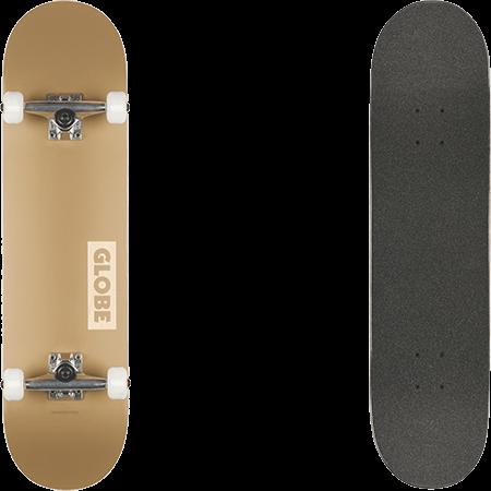 """Globe Goodstock 8.375"""" Complete Skateboard Sahara"""