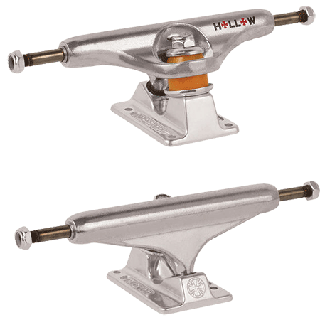 Independent Forged Hollow 129 Silver Skateboard Trucks