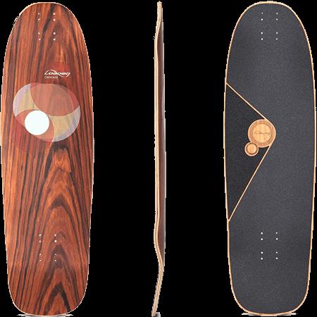 """Loaded Omakase Roe 33.5"""" Longboard Deck"""
