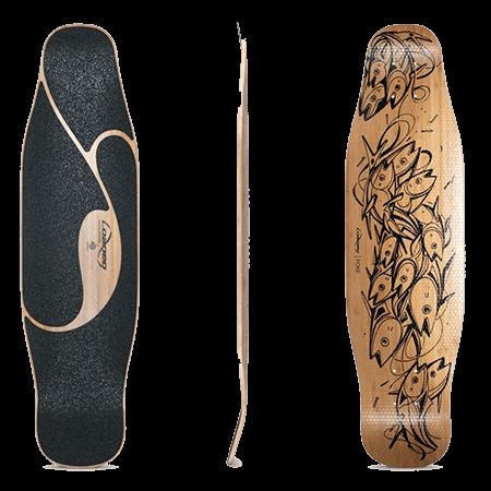 Loaded Poke Longboard Skateboard Deck