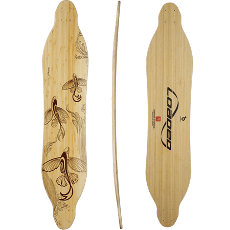 Loaded Vanguard Flex 2 Longboard Skateboard Deck