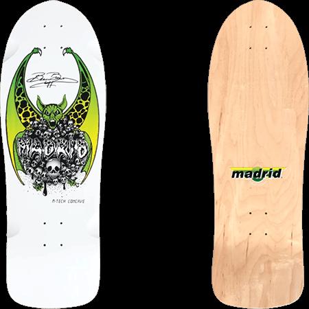 "Madrid Beau Brown OG Cruiser 10.25"" Skateboard Deck"