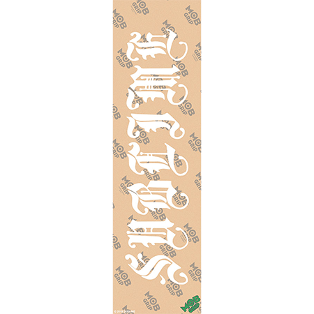 Mob x Sublime Old English Clear Griptape Sheet