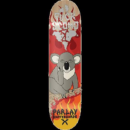 """Parlay Fuck Scomo 8"""" Skateboard Deck"""