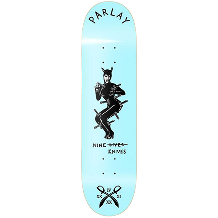 Parlay Nine Knives 8' Skateboard Deck