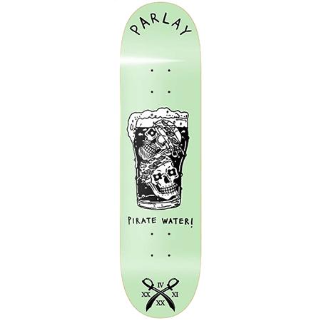 "Parlay Pirate Water 8"" Redline Skateboard Deck"