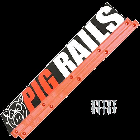 Pig Orange Skateboard Rails