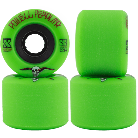 Powell Peralta SSF G-Slides 59mm 85a Green Skateboard Wheels