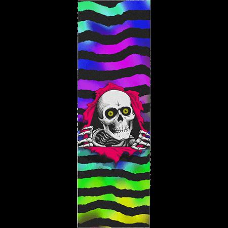 """Powell Peralta Ripper Tie Dye 10.5"""" x 33"""" Skateboard Griptape Sheet"""
