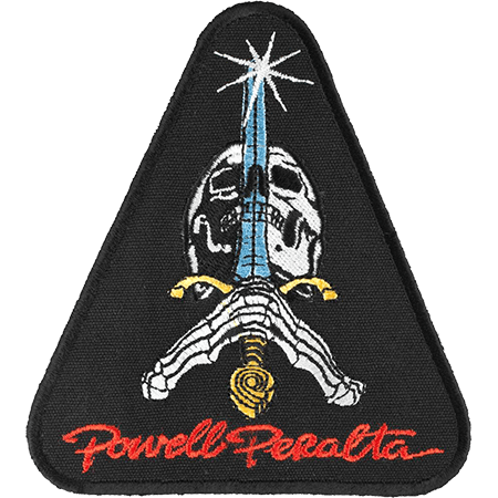 Powell Peralta Skull & Sword Patch