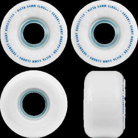 Ricta Clouds 54mm 78a Blue Core Skateboard Wheels