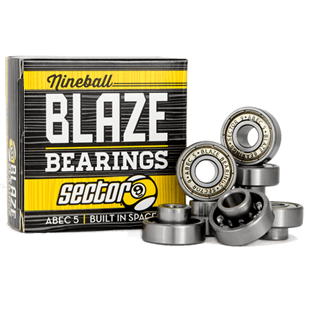 Sector 9 Blaze Built-In ABEC 5 Stainless Steel Skateboard Bearings