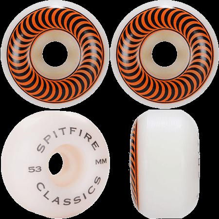 Spitfire Classic 53mm 99a Skateboard Wheels