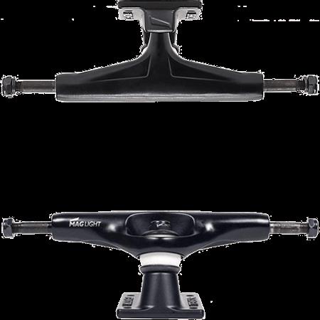 "Tensor MAGLight ATG 5.25"" Black Skateboard trucks"