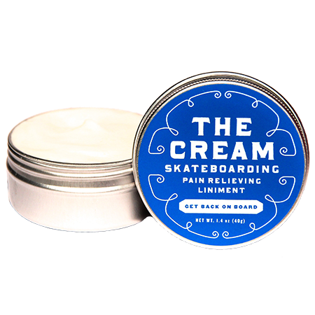 The Cream Skateboarding Liniment