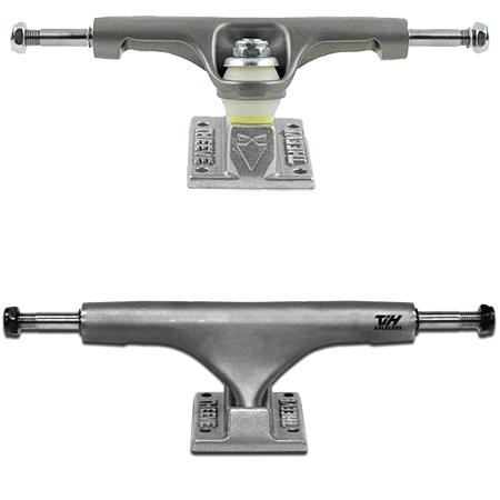"""Theeve TiH Titanium 5.5"""" Raw Skateboard Trucks"""