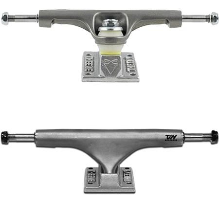"""Theeve TiH Titanium 5.85"""" Raw Skateboard Trucks"""